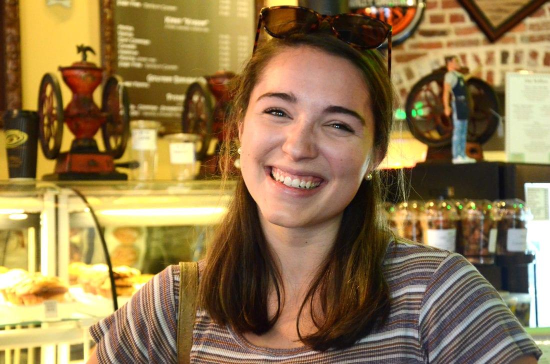 """Chocolate. Any kind of dark chocolate."" — Lily Ambler, 19"